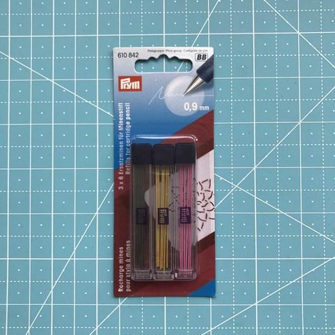 Сменные грифели для механического карандаша 0.9мм 18шт (Prym) (Арт. 610842)
