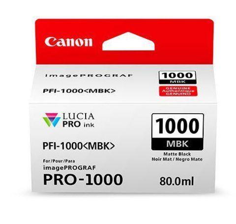 Картридж Canon PFI-1000 MBK матовый черный (0545C001)
