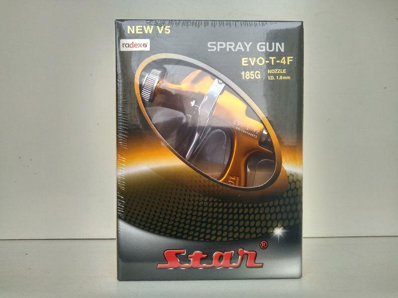 Краскопульт STAR EVO-T 4F дюза 1.8