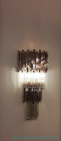 replica Empire wall lamp by LUXXU 2