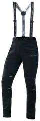 Детские разминочные лыжные штаны-самосбросы черные (NSJ410100)