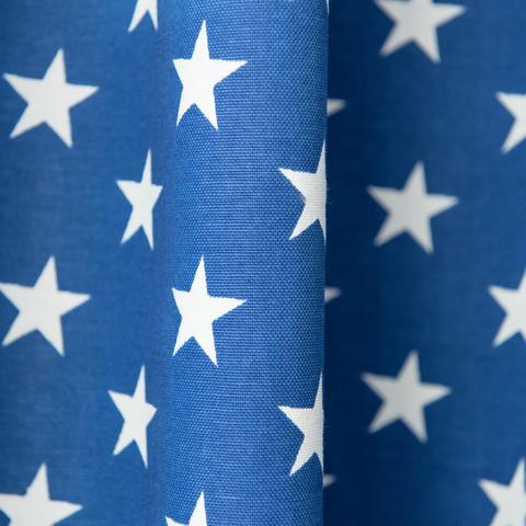 Комплект штор хлопок Star синий