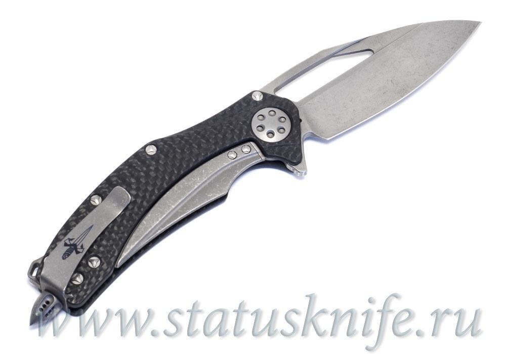 Нож Marfione Custom Matrix Apocalyptic Stonewash M390 CF