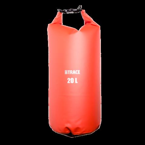Гермомешок BTrace ПВХ 50л (Красный/зеленый)