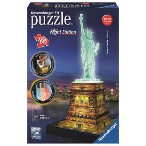 Puzzle - Statue of Liberty - Night Edition 108pc