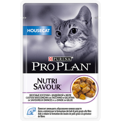 Pro plan nutrisavour housecat with turkey (pouch jelly)