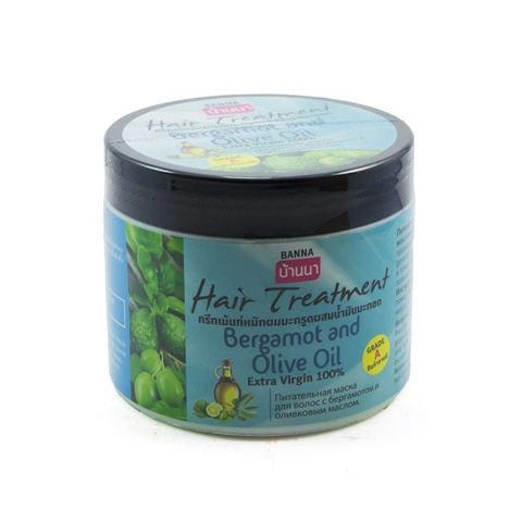 Маска для волос с Бергамотом и оливковым маслом Banna, 300 мл
