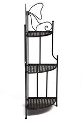 Этажерка угловая Secret De Maison 003 (Черный) — черный