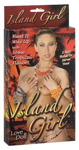 Надувная секс-кукла Island Girl