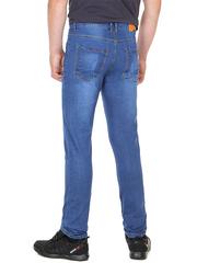 073 джинсы мужские синие