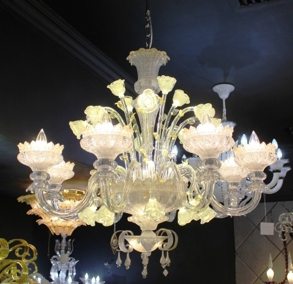 Murano Glass Chandelier Buy Online: Chandelier ARTE DI MURANO 11-68 By Arlecchino Arts (HK