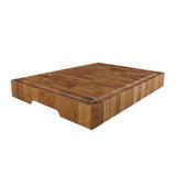 Доска торцевая разделочная, дуб черешчатый 50 х 40 х 4,5 см, артикул TD03004, производитель - Origins Wood