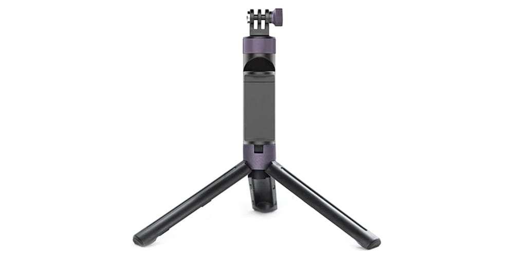 Штатив-рукоятка PgyTech Hand Grip & Tripod for Action Camera P-GM-104 разложена