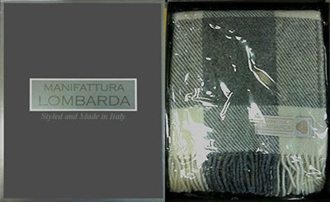 Плед 130х170 Manifattura Lombarda Regale-3 бежевый