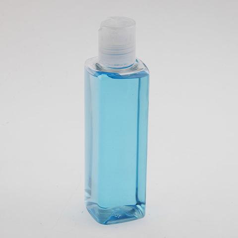 Бутылка квадратная с крышкой