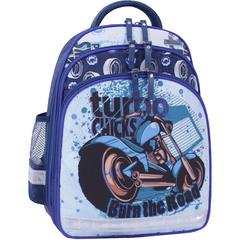 Рюкзак школьный Bagland Mouse 225 синий 551 (0051370)