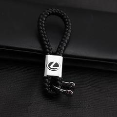 Изящный брелок для ключей с кожаным ремешком Лексус (Lexus)