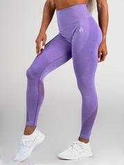 Женские лосины Ryderwear Seamless Tights - Purple Marle