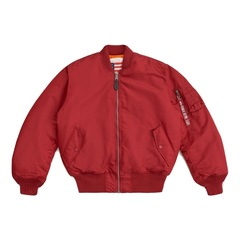 Alpha Industries MA-1 Blood Chit Commander Red