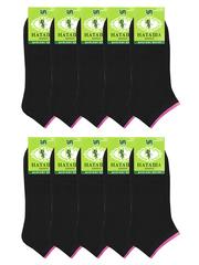 6655-1 носки женские 37-41 (10 шт.) черные