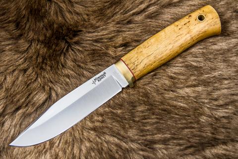 Туристический нож Юкон D2 Карельская Берёза