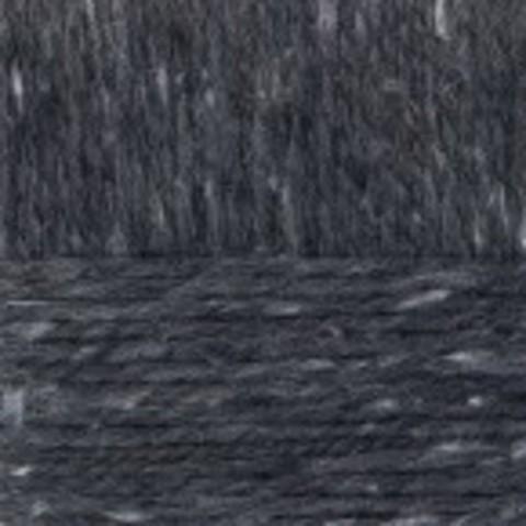 Пряжа Смесовая (Пехорка) 711 Темный антрацит - фото