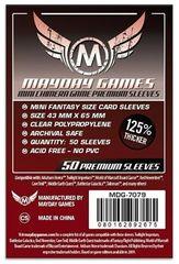 Протекторы для настольных игр Mayday Premium Mini Chimera Game (43x65) - 50 штук