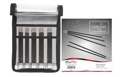 KnitPro Karbonz Набор чулочных спиц 15 см