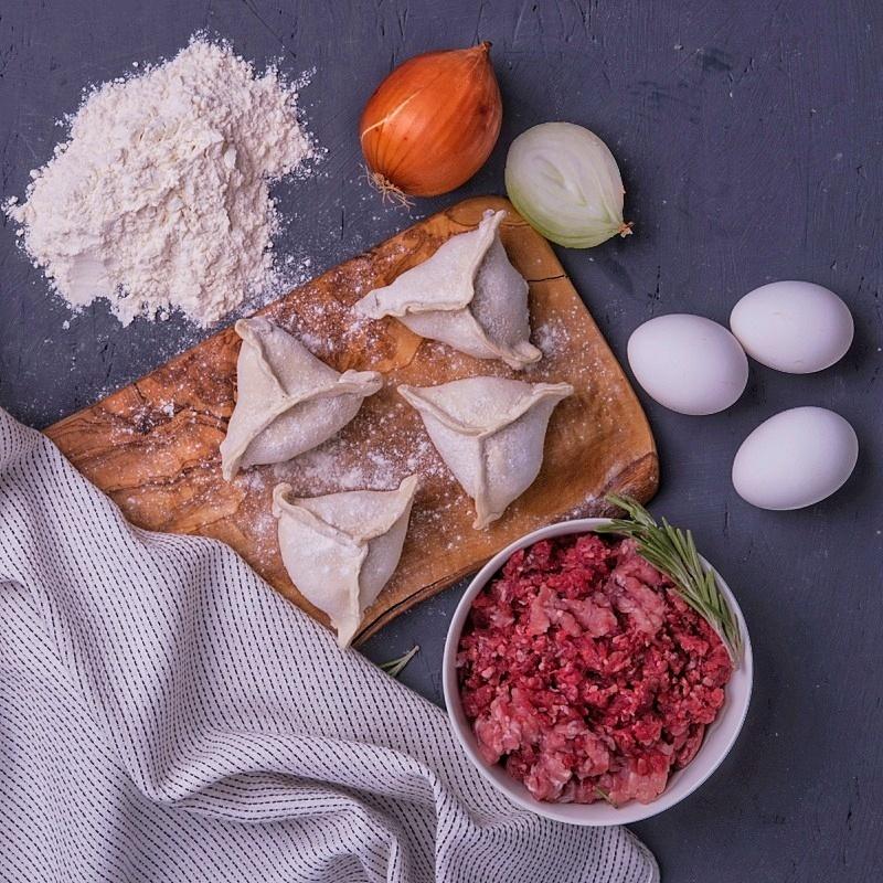 Фотография Манты баранина и говядина, 500 г купить в магазине Афлора