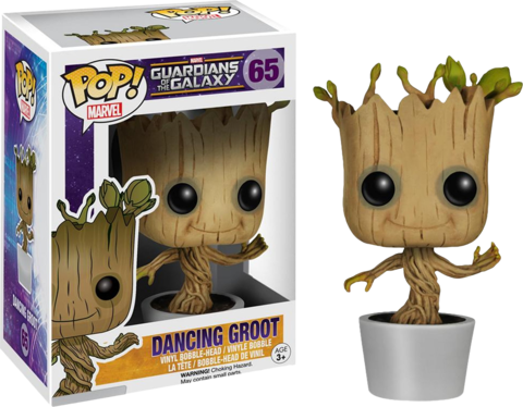 Фигурка Funko Pop! Marvel: Guardians of the Galaxy - Dancing Groot