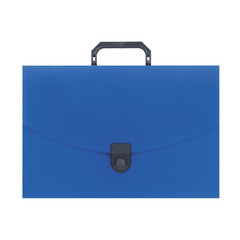 Папка портфель пласт. ATTACHE A4/06 30мм синий
