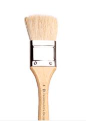 Кисть из ворса козы флейц Transon, короткая ручка
