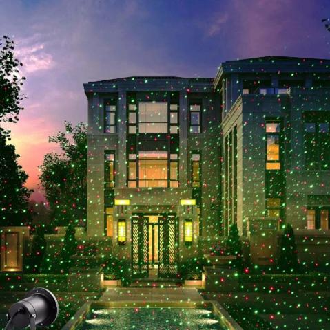 Звездный Дождь Лазерный проектор новогодний