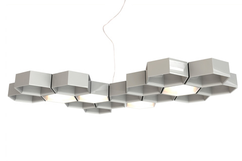 replica Luceplan Honeycomb suspension lamp