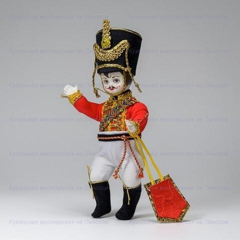 Гусар - интерьерная кукла