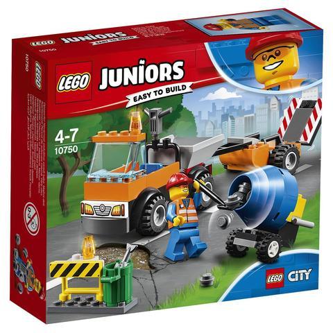 LEGO Juniors: Грузовик дорожной службы 10750 — Road Repair Truck — Лего Джуниорс Подростки