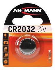 Батарейка литиевая CR2032 ANSMANN 3V