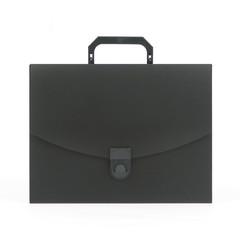 Папка портфель пласт. ATTACHE A4/06 30мм черный