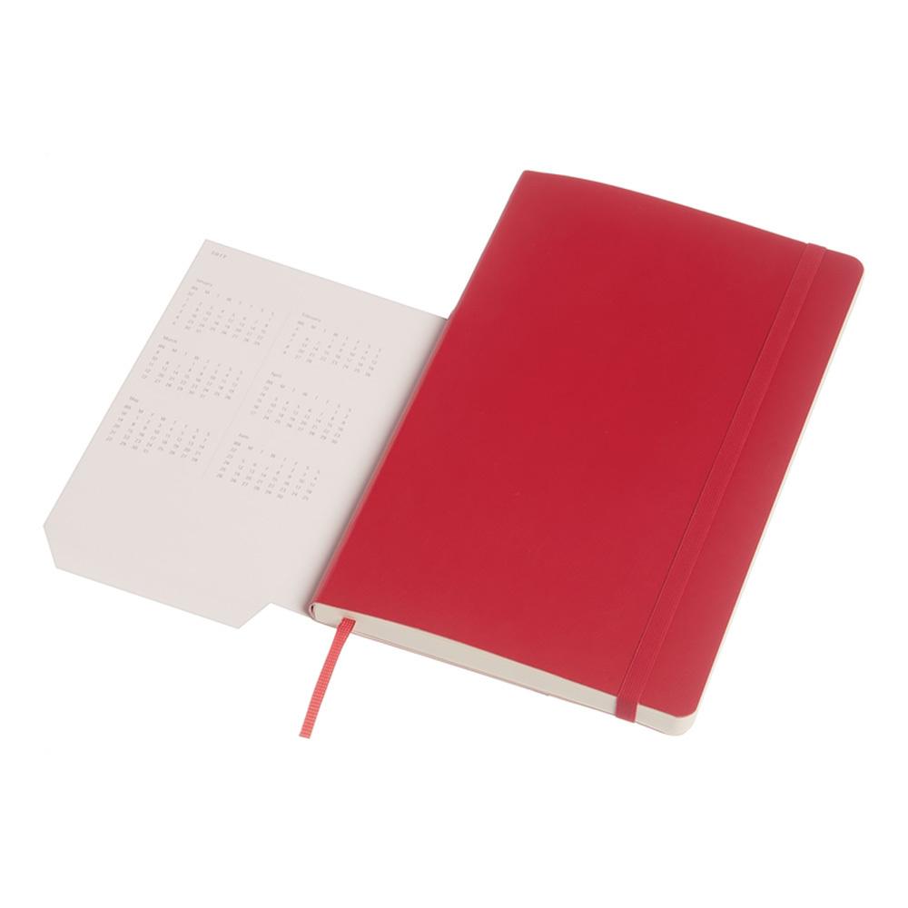 Еженедельник Moleskine Academic Wknt LGS, цвет красный