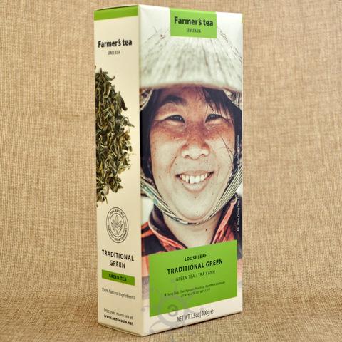 Чай зеленый традиционный Sense Asia, 100г