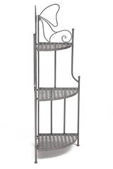 Этажерка угловая Secret De Maison 003 (Серый) — Серый