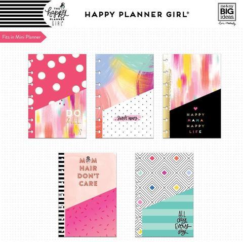 Кармашки для ежедневника Happy Planner Mini Pocket Folders -Super Mom -5шт.