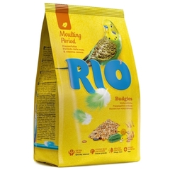 Корм для волнистых попугайчиков, Rio, в период линьки