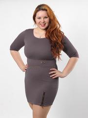 H118-1 платье женское, хаки