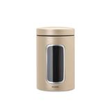 Контейнер для сыпучих продуктов с окном (1,4 л), Шампань, артикул 304828, производитель - Brabantia