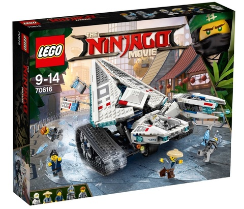 LEGO Ninjago Movie: Ледяной танк 70616 — Ice Tank — Лего Ниндзяго фильм