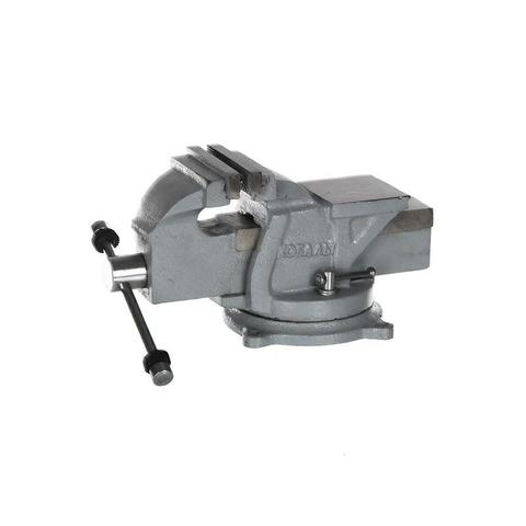 Тиски слесарные поворотные КОБАЛЬТ стальные, ширина губок 75 мм, захват 75 мм, 5.5 кг,  на (248-955)