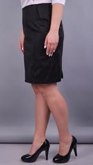 Алёна. Юбка больших размеров. Черный.