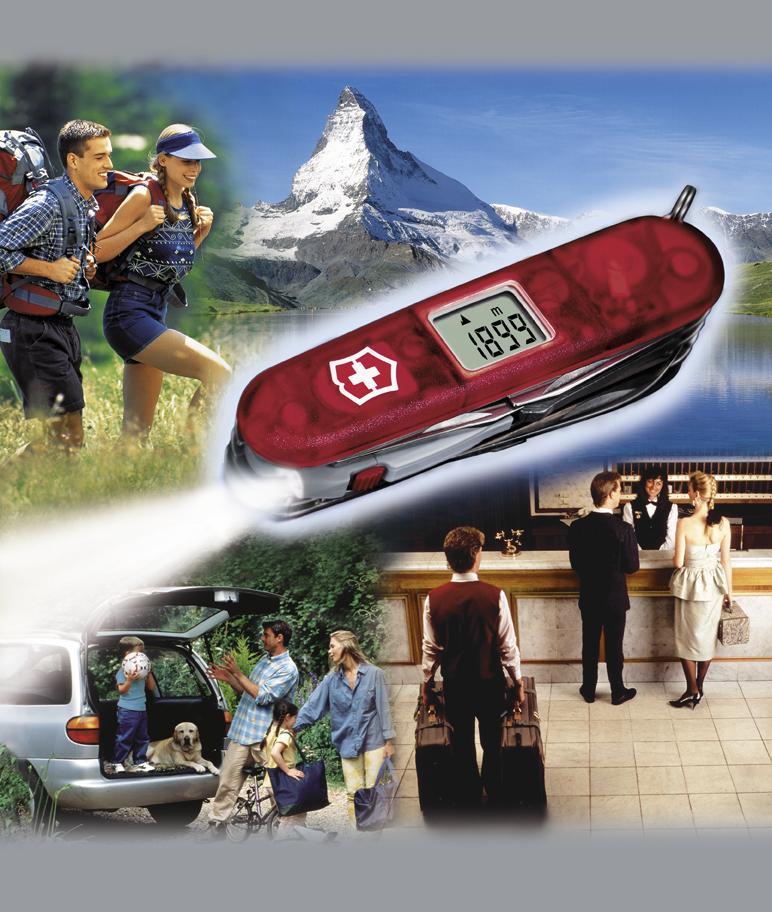 Нож Victorinox Traveller Lite, 91 мм, 27 функций, полупрозрачный красный