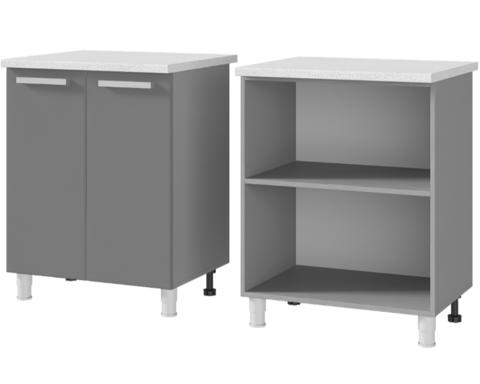 Шкаф-стол рабочий 2-дверный (700*820*600) 7Р1